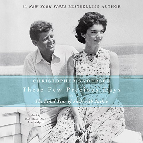 These Few Precious Days audiobook cover art
