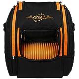 MVP Disc Sports Voyager Lite Backpack Disc Golf Bag (Orange)