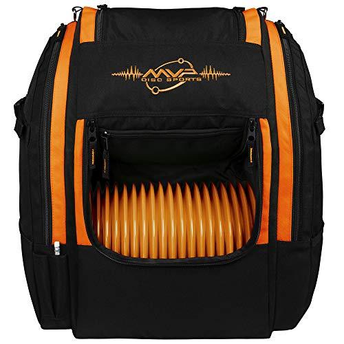MVP Disc Sports Voyager Lite Backpack Disc Golf Bag - Orange