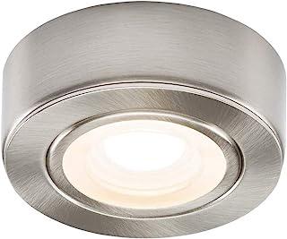 Knightsbridge 230V LED Under Cabinet Light -Brushed Chrome 3000K