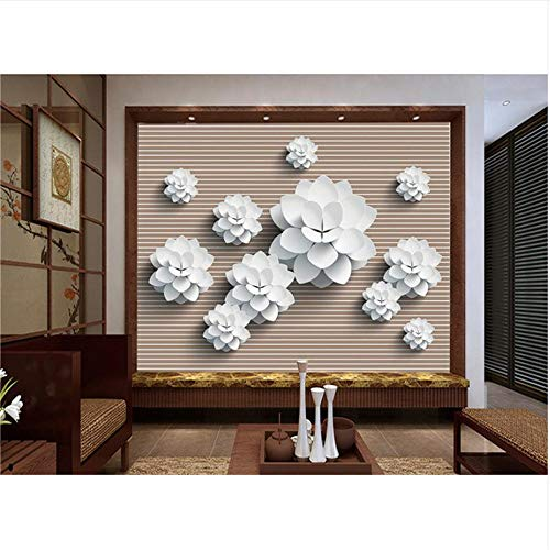 Lovemq Mural De Papel Tapiz 3D / Papel Fotográfico Personalizado/Fondos Murales En Vector Fondo Blanco/Tv/Sofá/Ropa De Cama/Ktv/Hotel/Sala De Estar/Niños-400X280Cm