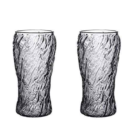 LRW Japanse stijl glaswerk set Mug creatieve drank koffie kop kop lang pul bier 2 geschenkdoos -530ml