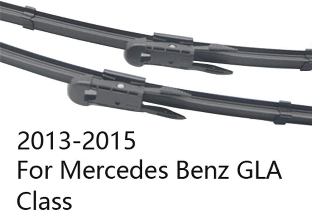 Color : 2013-2015, Size : Front Wipers Only Replacement Wipers Wiper Blades for Mercedes Benz GLA Class x156 Fit Pinch Tab Arms GLA 180 200 220 250 45 AMG CDI 4Matic