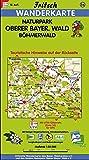Fritsch Karten, Nr.56, Naturpark Oberer Bayerischer Wald, Böhmerwald (Fritsch Wanderkarten 1:50000)