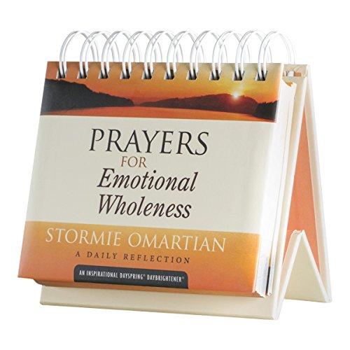 Calendário Flip - Orações para a integridade emocional - Stormie Omartian