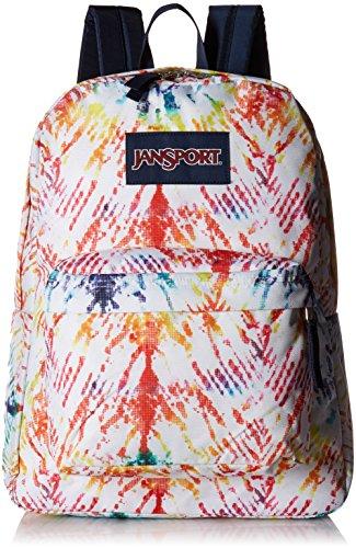 JanSport Unisex SuperBreak Rainbow Tie-Dye One Size