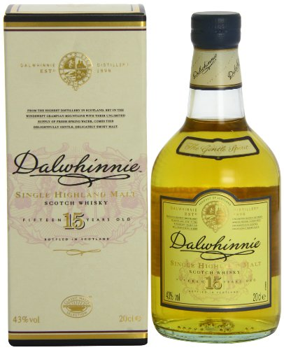 Dalwhinnie 15 Years Old Single Malt Scotch Whisky 20cl with Gift Box