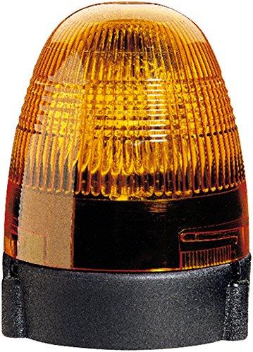 HELLA 2RL 007 337-001 Rundumkennleuchte - KL Rotafix - Halogen - H1 - 12V - Lichtscheibenfarbe: gelb - Anbau