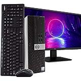 Dell OptiPlex 3040 PC Desktop Computer, Intel i5-6500 3.2GHz, 16GB RAM, 512GB SSD, Windows 10 Pro, New 23.6' FHD LED Monitor, Wireless Keyboard & Mouse, New 16GB Flash Drive, DVD, WiFi, HDMI (Renewed)