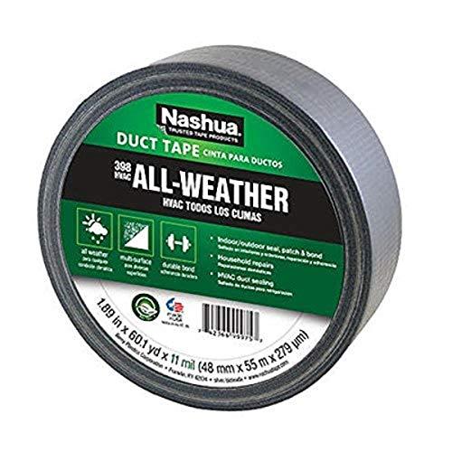Nashua - 1392548 398 Polyethylene Coated Cloth Professional Grade Duct Tape, 55 m Length, 48 mm...