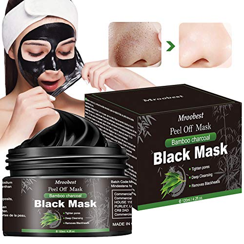 Blackhead Maske, Black Mask, Peel off Maske, Mitesser Maske, Black Charcoal Mask, Entfernt Mitesser/Akne, reinigt die Poren tief, schützt die Haut vor Reinheit und Weichheit