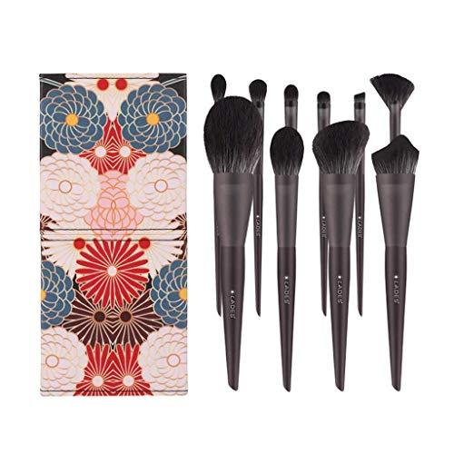 Pinceau de maquillage GCX- 10 Sets en Vrac Poudre Outils de Maquillage Ensemble Complet de Livraison Tube Beau
