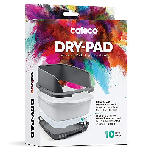 Cateco Dry Pad Replacement for Odor Control Cat Litter Box System