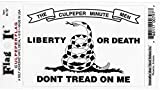 Flags Unlimited Culpeper Don't Tread on Me Decal Sticker