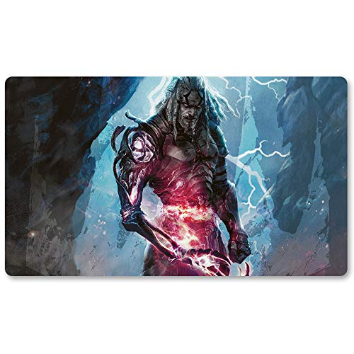 bakedbanana Tezzeret Agent of Bolas- Board Game MTG Playmat Table Mat Games Size 60X35 cm Mousepad Play Mat for Yugioh Pokemon Magic The Gathering