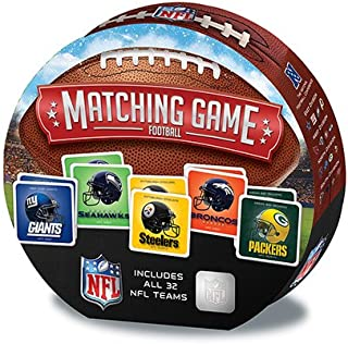 MasterPieces NFL Matching Game, Includes All 32 Teams, for Ages 3+