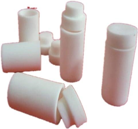 99/% Al2O3 alumine cylindrique creuset de creuset de laboratoire récipient