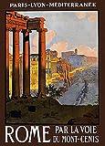 The Poster Corp Rome Italy Paris Lyon Mediterranee Travel
