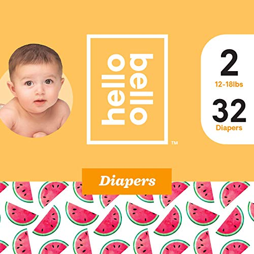 Price comparison product image Hello Bello Diapers Jumbo Pack - Watery Melons (2)