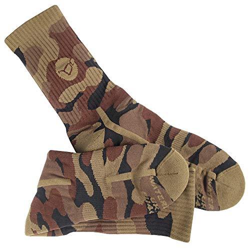 Korda Camouflage Waterproof Socks : Fits UK 10-12