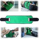 Bias&Belief Cinturón de Transferencia Versátil para Paciente con Asas - Transferencia de Pacientes Cinturón Cabestrillo Móvil - Elevación Cuidado Ayudar Cinturón