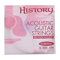 HISTORY HAGSN036 アコースティックギター弦 A-5th .036 バラ弦1本 (ヒストリー)