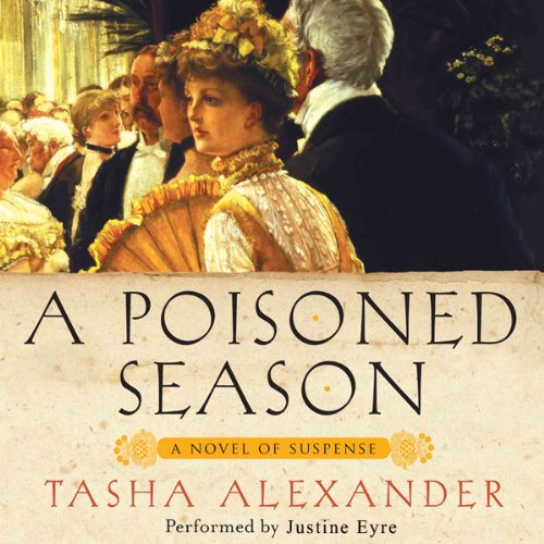 A Poisoned Season audiobook cover art