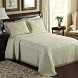 LaMont Home Savannah Collection - 100% Cotton Bedspread