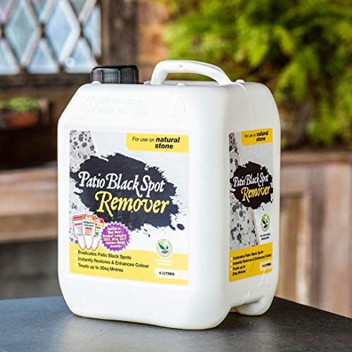 Photo of Patio Black Spot Remover 4 litres for Natural Stone