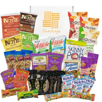 Healthy Snacks Care Package by Snackage (31 Count) - http://coolthings.us