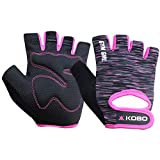 Kobo WTG-38 Gym Gloves for Girls Ladies Weight Lifting Exercise & Fitness