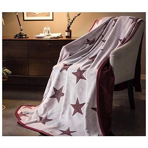 ZXL textiel deken verdikken slaapzaal quilt kantoor dutje sofa decoratie pleister deken hypoallergeen baby wrap (L: 120, 150, 180, 200CM B: 150, 200, 230CM) beddengoed (kleur: C, maat: 200X2