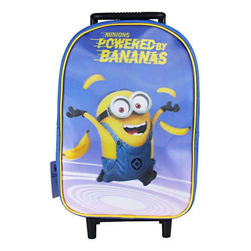 Minions Powered by Bananas Schulranzen, 42 cm, Blau (Blue)