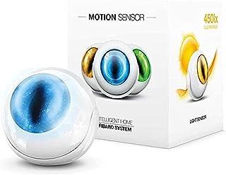 Fibaro Motionsensor, Bewegingsmelder Single met 4-voudige Sensor, FGMS-001-ZW5, Wit, 1 Stuk