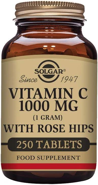 Solgar Vitamina C con escaramujo