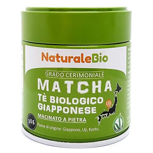 Té Verde Matcha Orgánico Ceremonial En Polvo. Biológico J