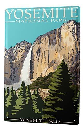 qidushop Plaque Murale en Aluminium pour Homme Motif aventurier Yosemite