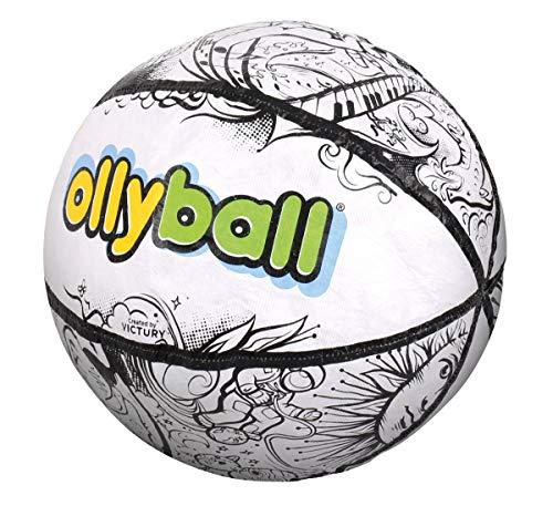 HCM Kinzel 55158 Ollyball Indoor-Spielball für Kinder und Eltern, Mehrfarbig