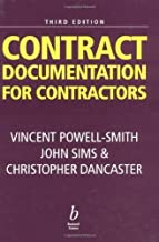 Contract Documentation for Contractors by Vincent Powell-Smith (2000-05-25)