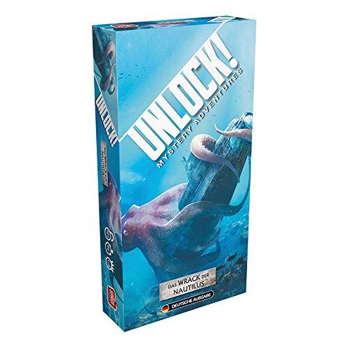 Asmodee Unlock! - Das Wrack der Nautilus, Rätselspiel, Deutsch