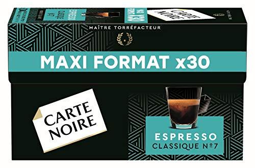 Carte Noire Café Classique N°7 - 30 capsules compatibles Nespresso®*