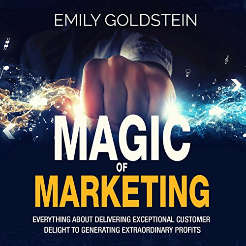 Magic of Marketing audiobook cover art