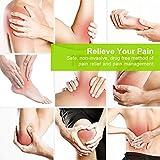 AUVON 3-en-1 Electroestimulador muscular de 24 modos, con función TENS, EMS y masaje, para aliviar el dolor muscular y fortalecer los músculos, 2 Canales, 12pcs 2