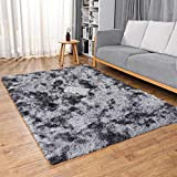Ophanie Rugs for Bedroom, Machine Washable Fluffy Shaggy Soft Area...