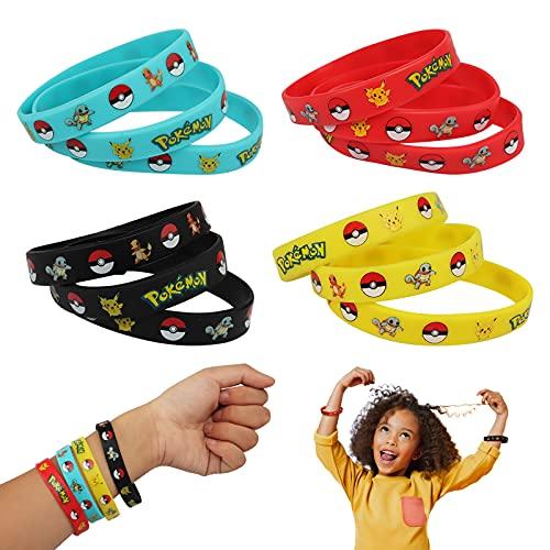 Gxhong Pokémon Bracelet en Silic...