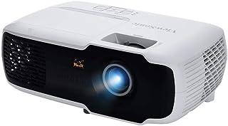 بروجيكتور بتقنية معالجة الضوء الرقمية ويعمل بواسطة وصلة يو اس بي من فيوسونيك PA502X، ابيض واسود