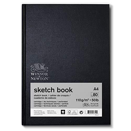 Winsor & Newton 6673015 - Papel de dibujo (DIN A5), color blanco