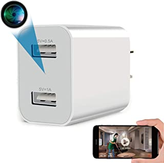 Spy Camera Wireless Hidden WiFi Camera with Remote Viewing, 2020 Newest Version 1080P HD Nanny Cam/Security Camera Indoor ...