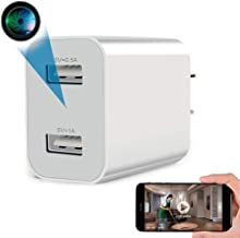 Spy Camera Wireless Hidden WiFi Camera with Remote Viewing, 2021 Newest Version 1080P HD Nanny Cam / Security Camera Indoo...