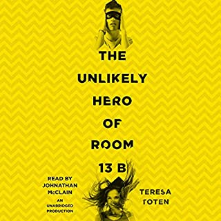 The Unlikely Hero of Room 13B audiobook cover art